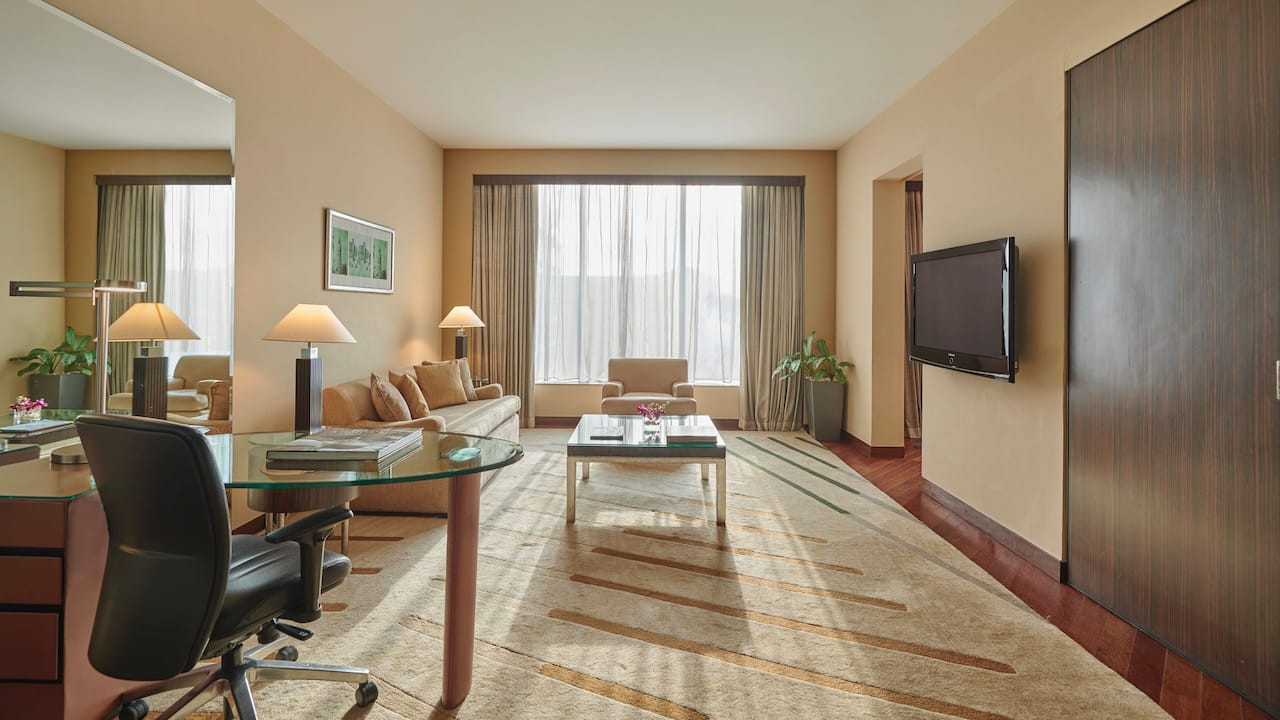 Premier Suite Living Room Area