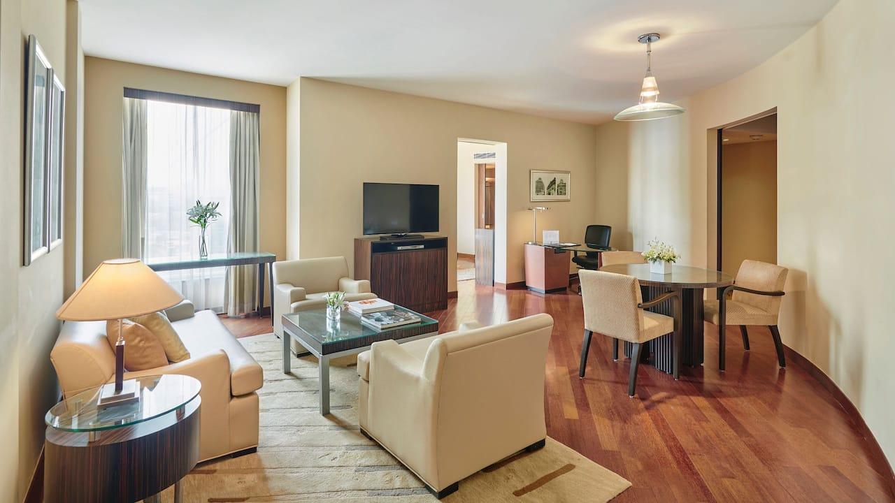 Premier Suite Living room