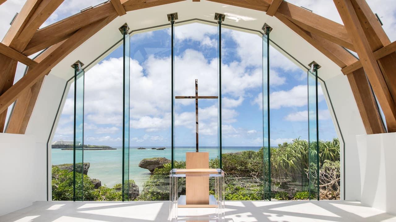 ハイアットリージェンシー瀬良垣アイランド沖縄 瀬良垣島教会