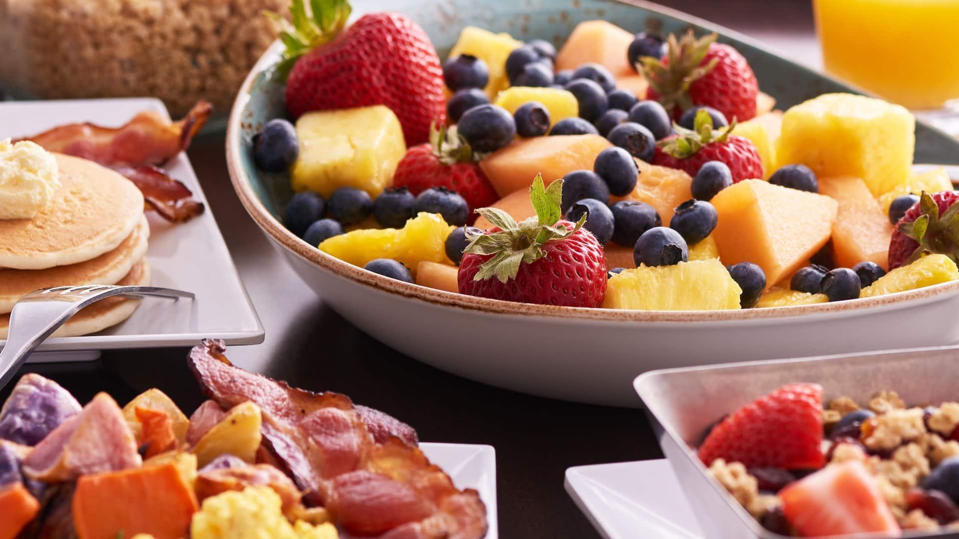 Breakfast Offerings Vertical