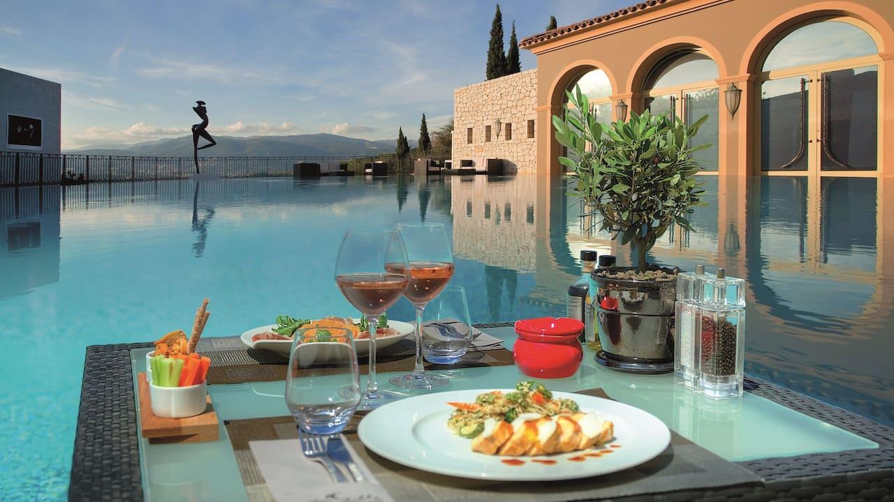 Summer Restaurant La Pergola