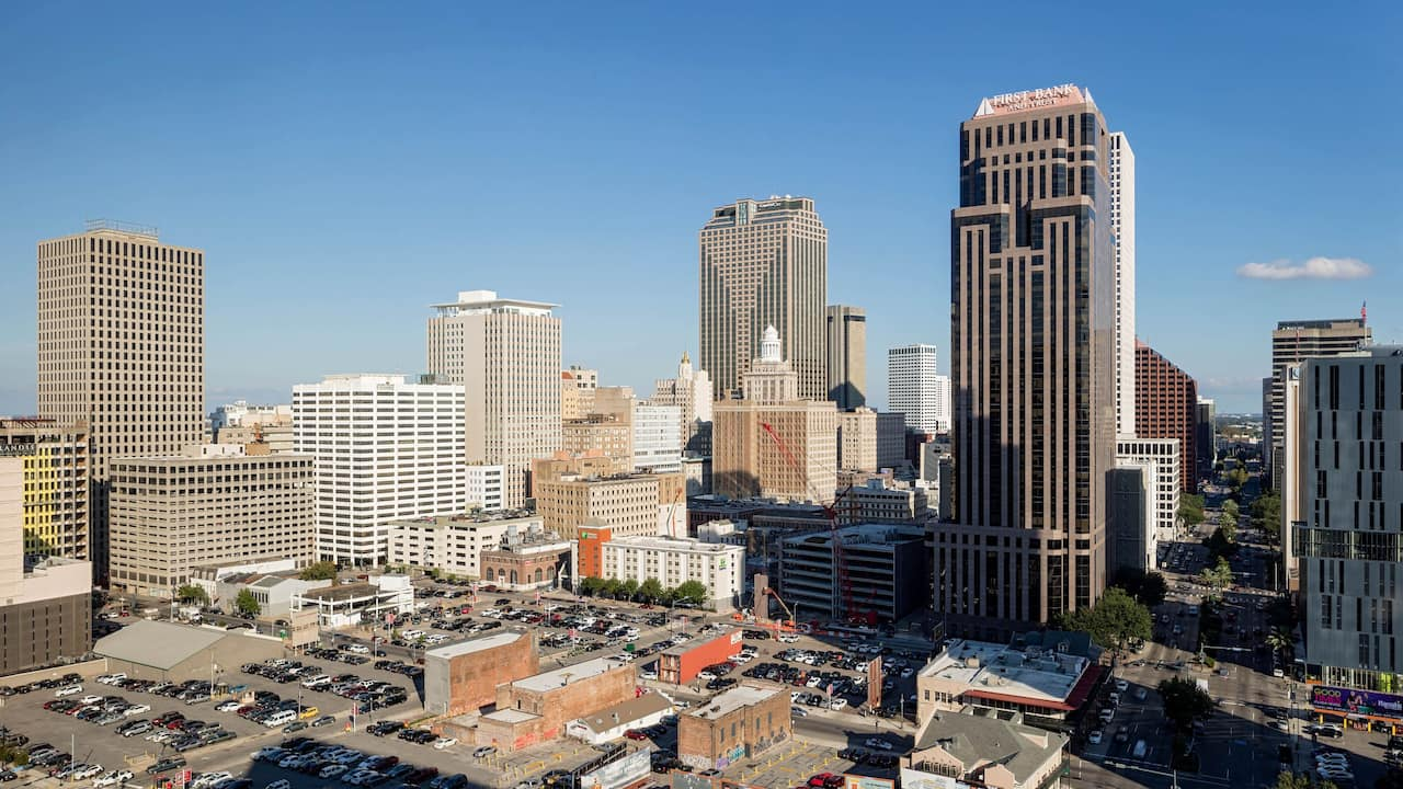 Poydras View at Hyatt House New Orleans Downtown
