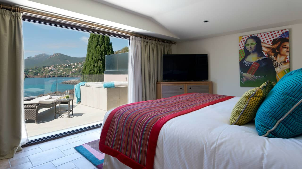Master Bedroom Villa Azur