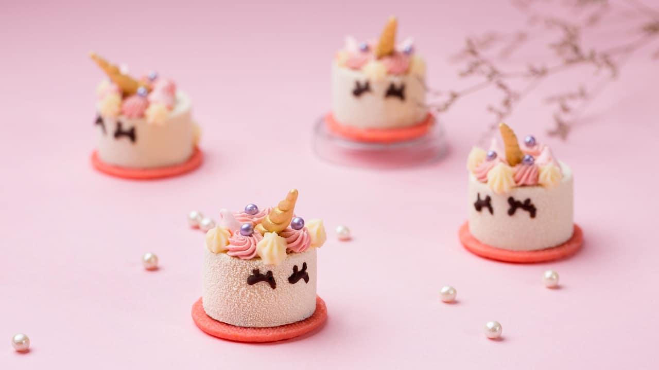 粉红独角兽蛋糕