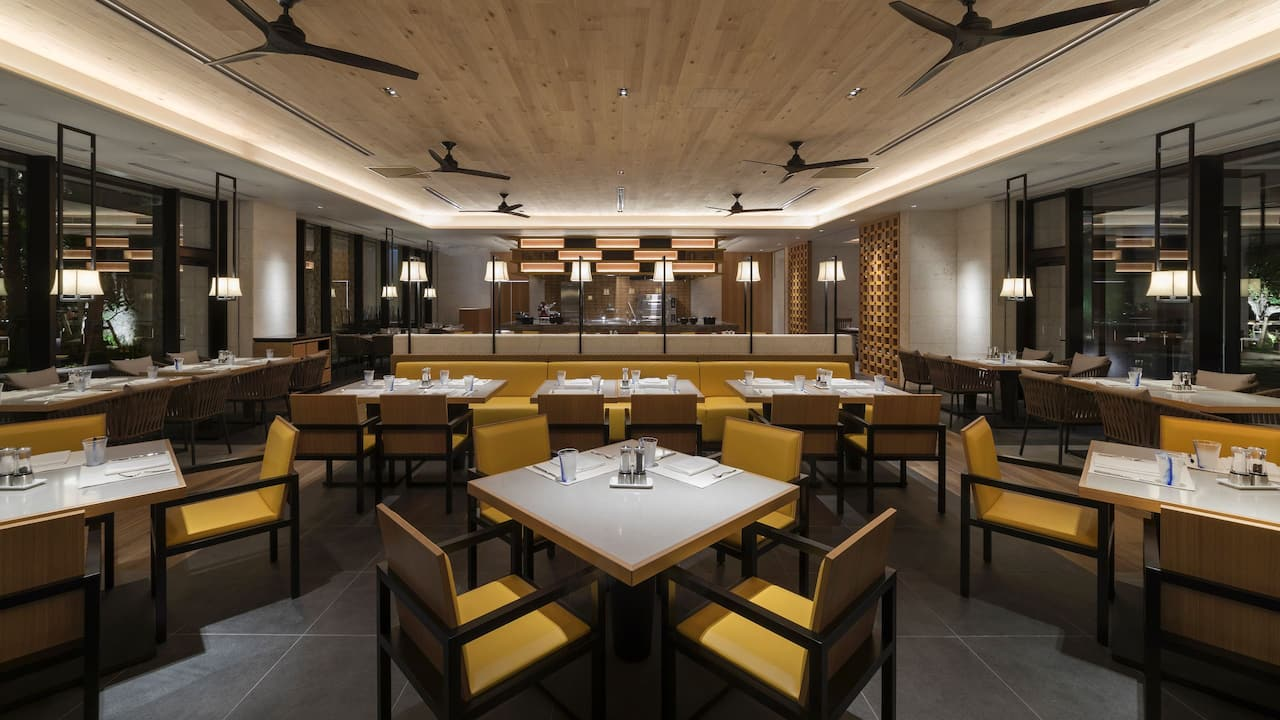 Hyatt Regency Seragaki Island Okinawa Cucina