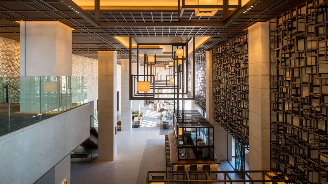 Hyatt Regency Seragaki Island Okinawa Lobby