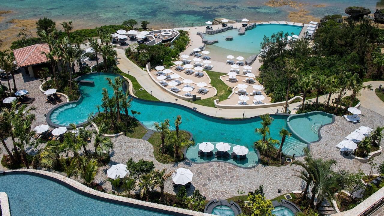 Hyatt Regency Seragaki Island Okinawa Pool