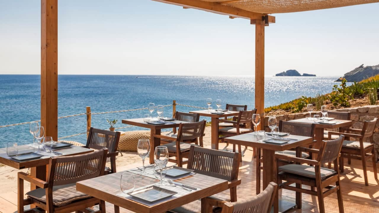 Casa del Mar Mykonos restaurant
