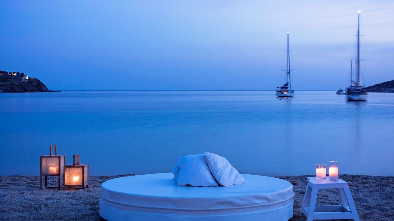 Beach and Lounge