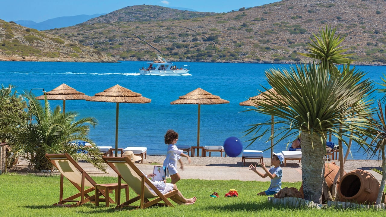 Elounda Gulf Villas and Suites Private Beach Club