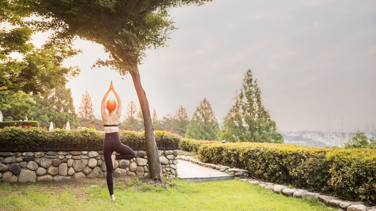 Yoga at Hyatt Regency Dharamshala