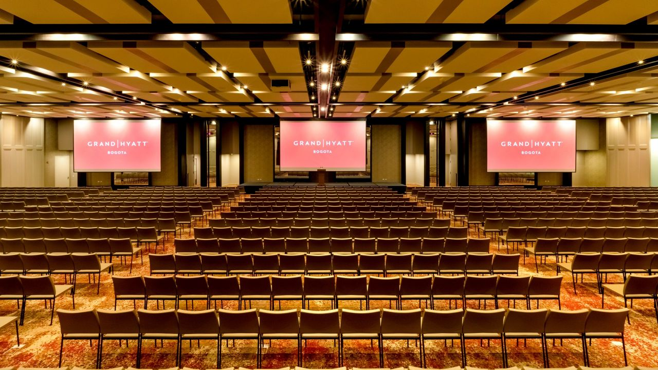 Grand Hyatt Grand Ballroom Auditorio