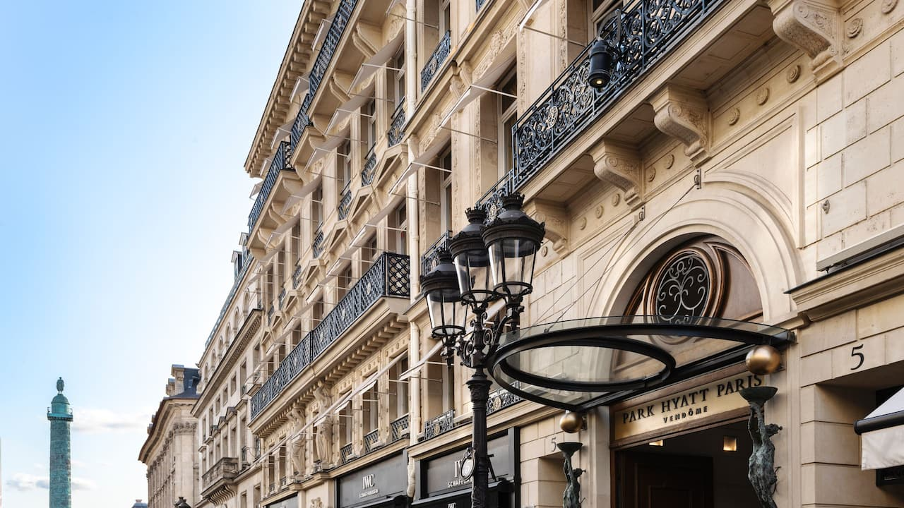 Park Hyatt Paris Vendome exterior