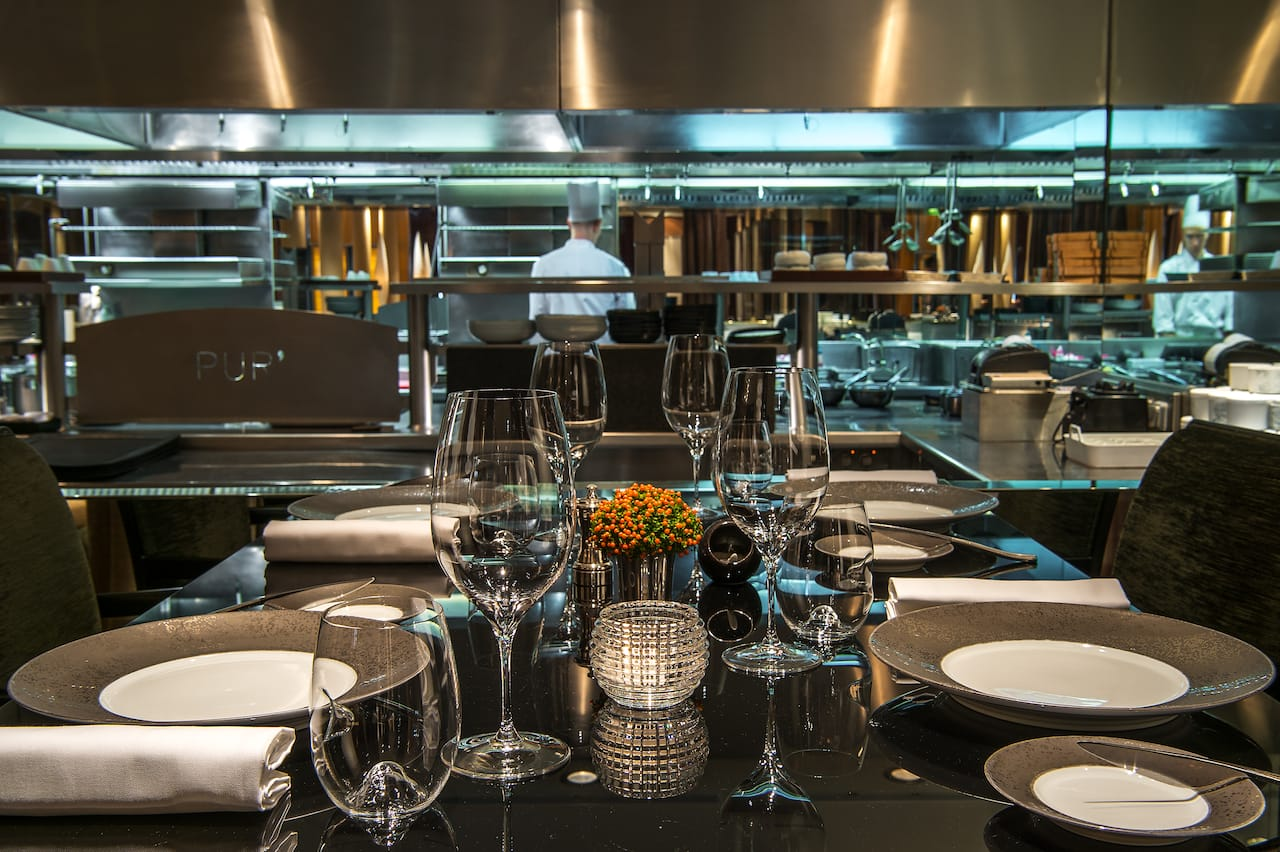 Chef's Table at Pur' Michelin-starred Restaurant at Hotel Park Hyatt Paris-Vendôme