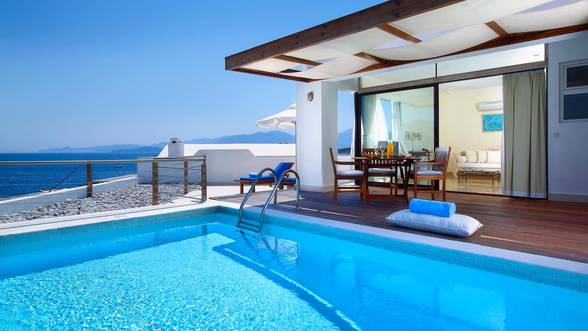 St Nicolas Bay Resort Hotel and Villas Club Suite Private Pool