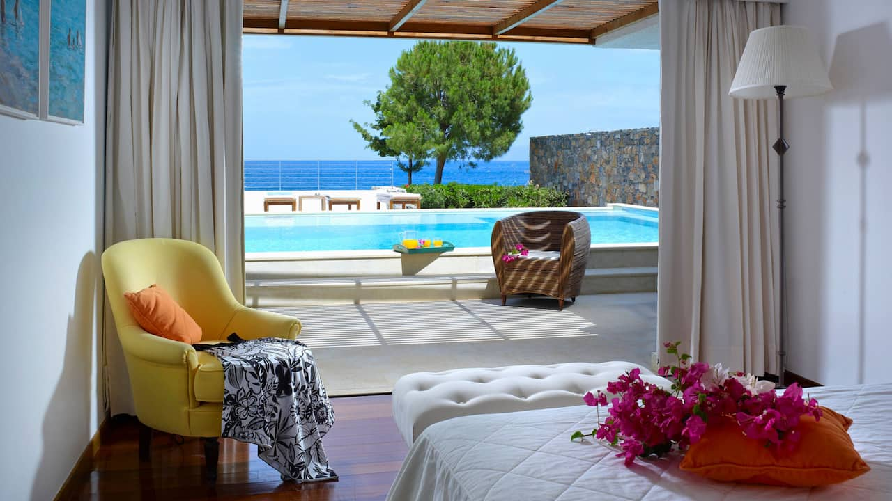 Club Villa 2 Bedroom Private Pool Seafront
