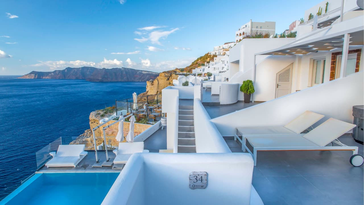 Santorini Secret Suites and Spa exterior