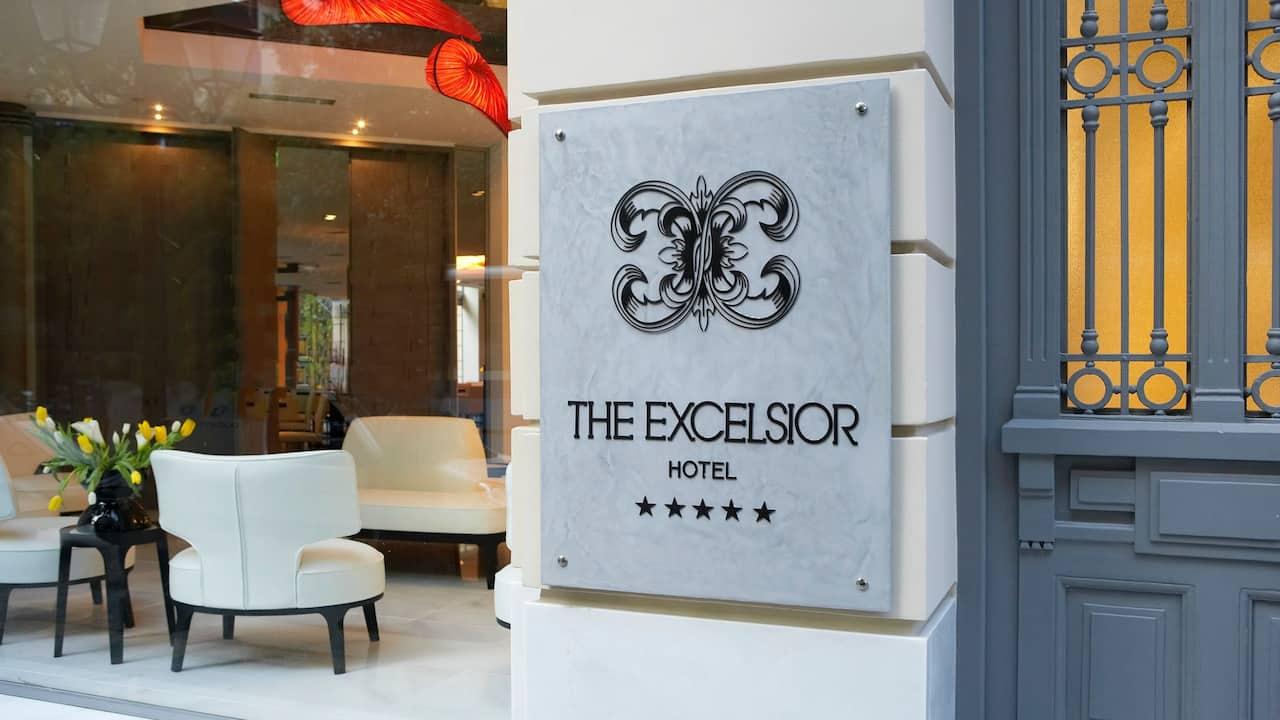 Excelsior Front entrance
