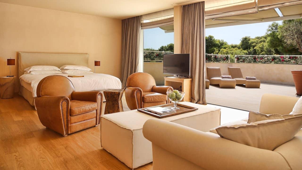 The Margi grand terrace suite