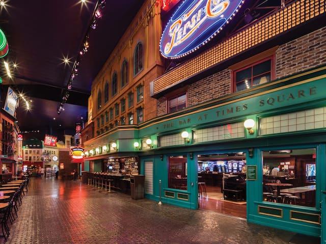 Bar at time square