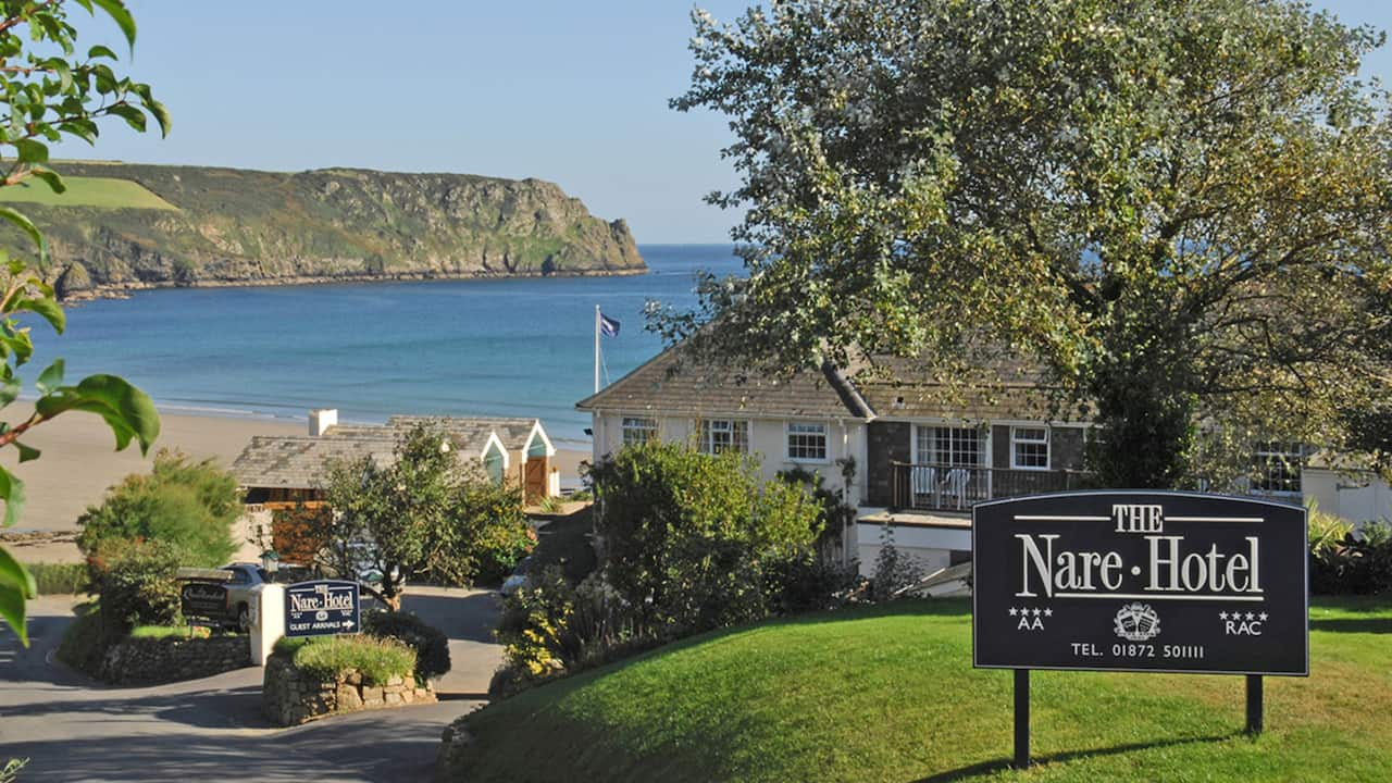 The Nare's peaceful oceanfront location
