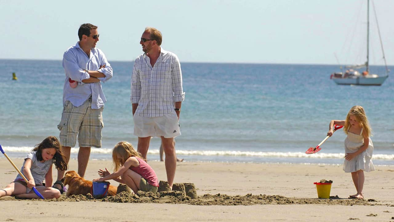 Carne Beach is perfect for a classic British holiday by the sea