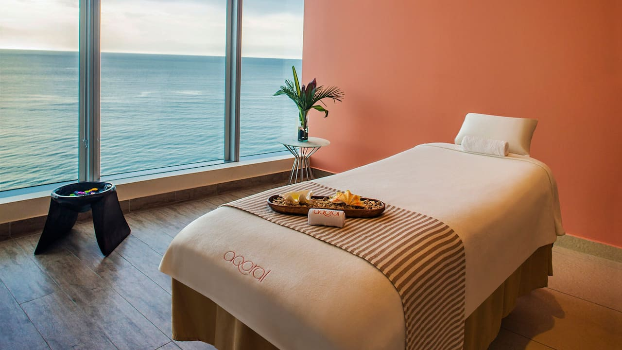 Aqoral Spa Treatment Room Ocean