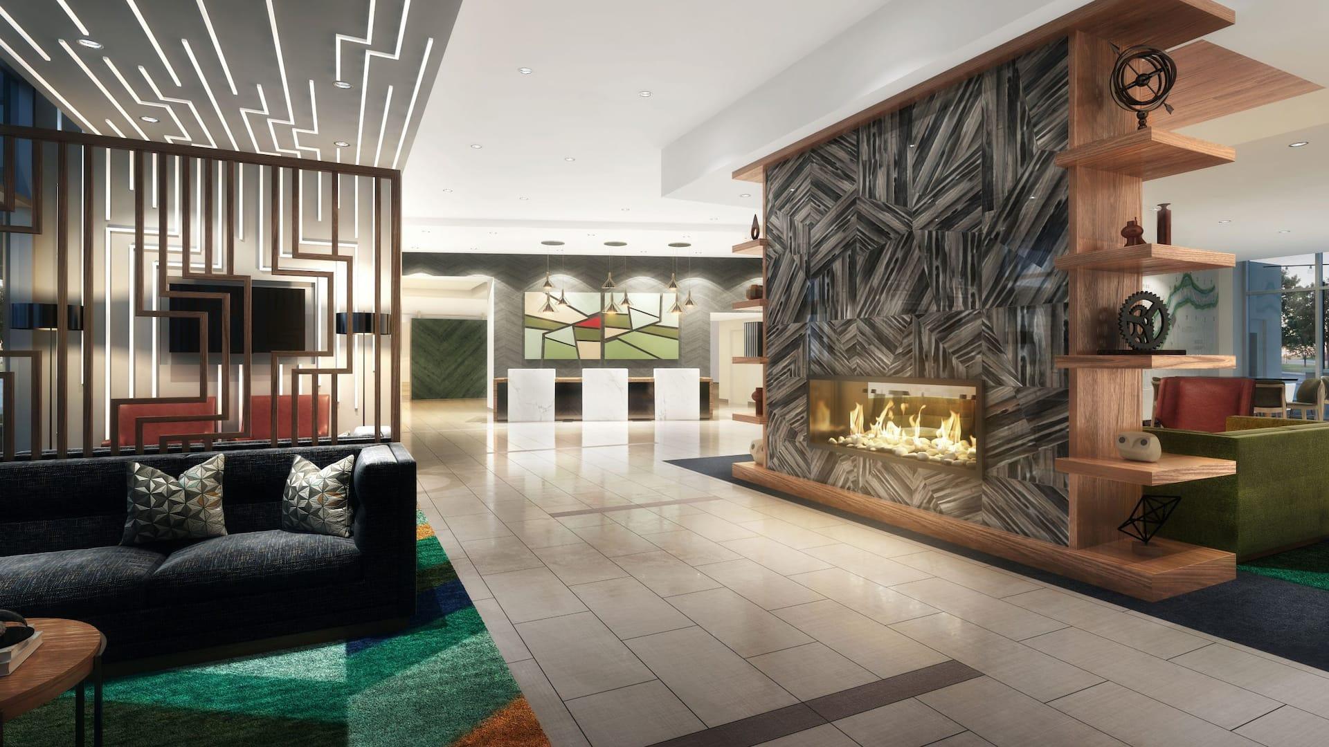 Lobby Hyatt Place East Moline/Quad Cities