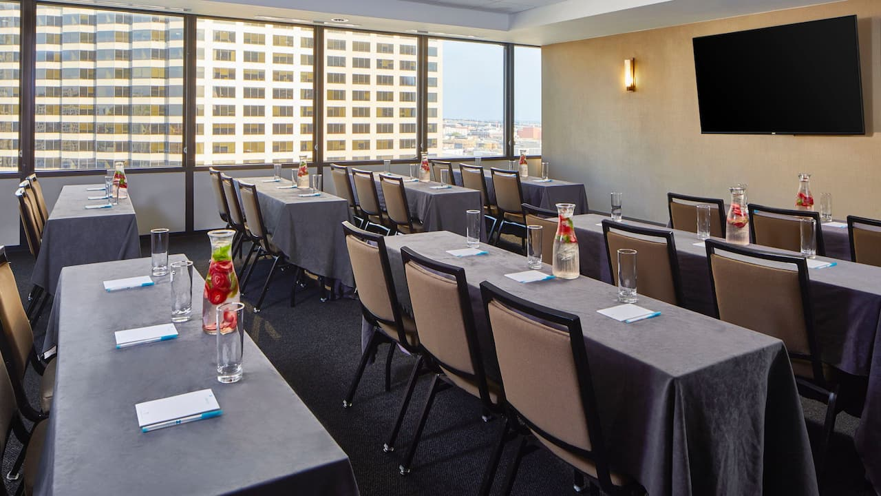 Classroom Setup at Hyatt House New Orleans Downtown