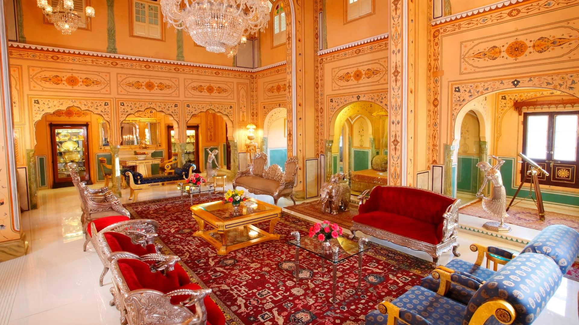 Beautifully restored Maharaja's Palace