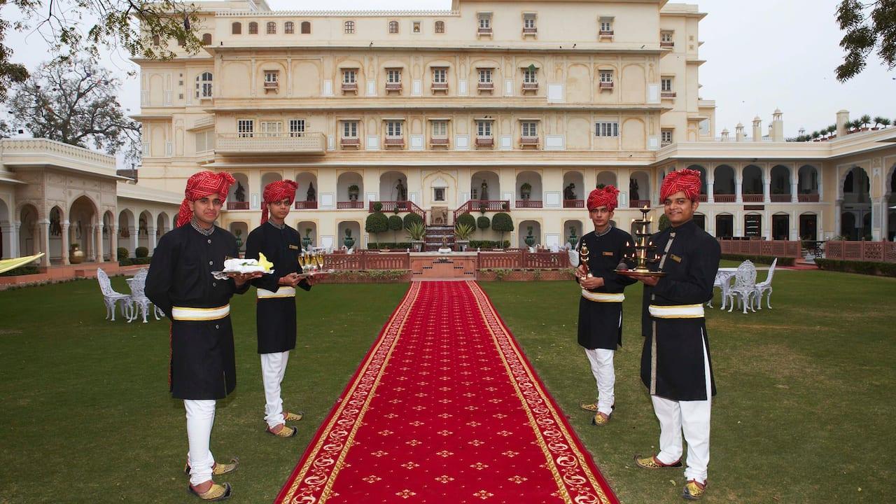 The Raj Palace welcomes you