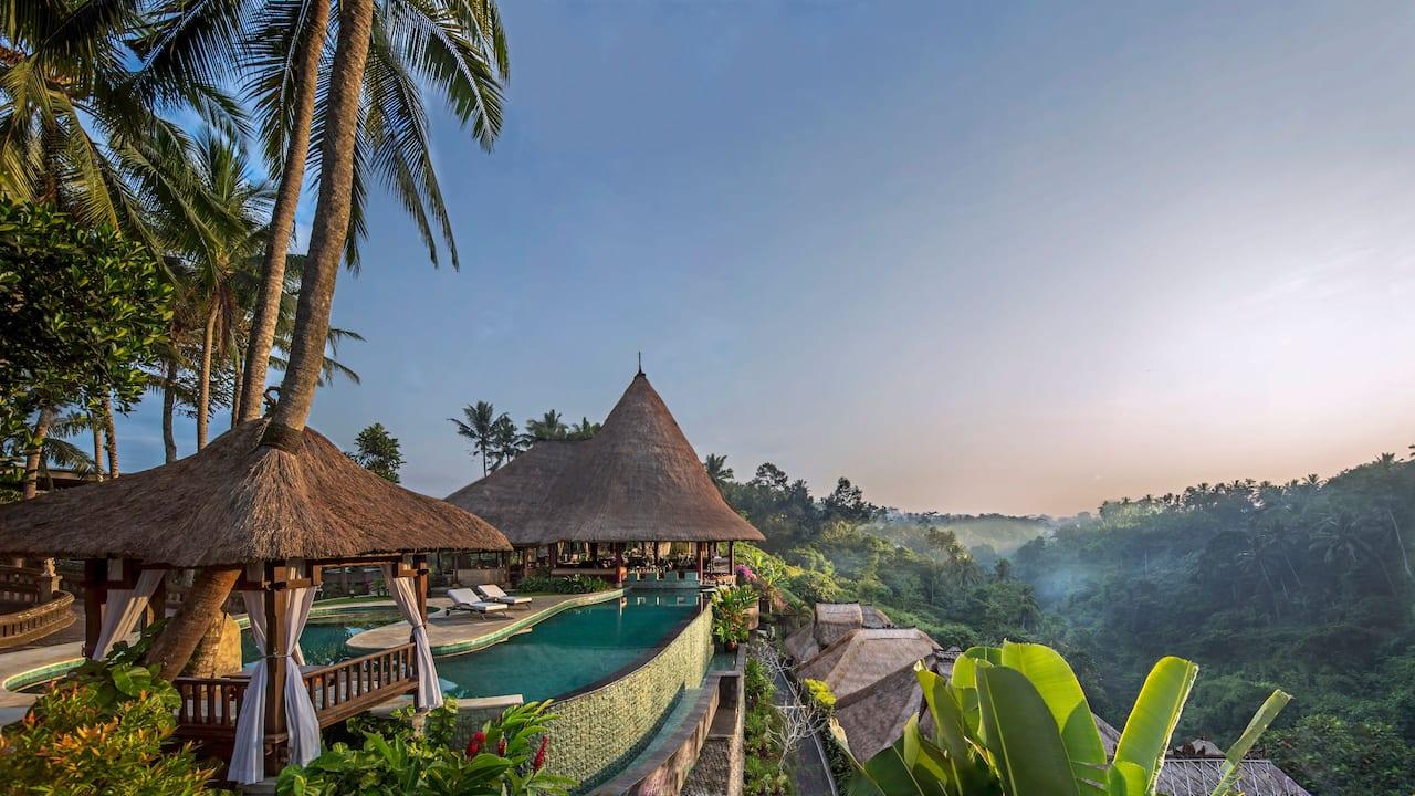 Sunrise at Viceroy Bali