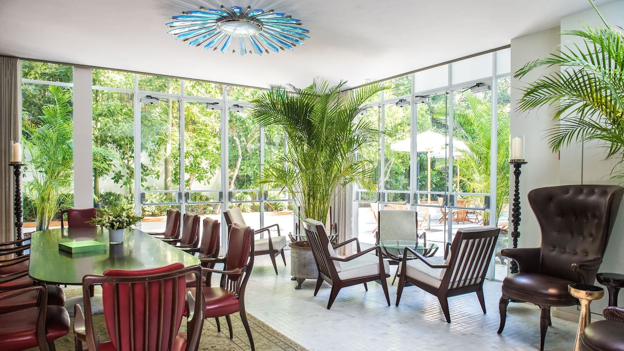 The Conservatory Lounge