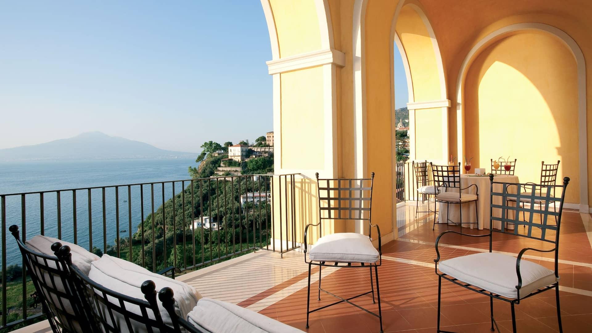 Junior Suite Toe Terrace Sea View