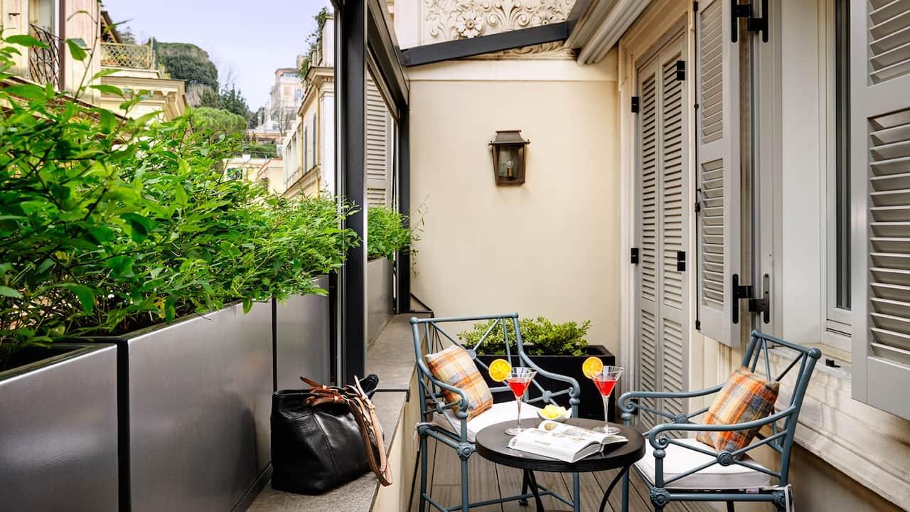 Babuino Terrace Suite Terrace