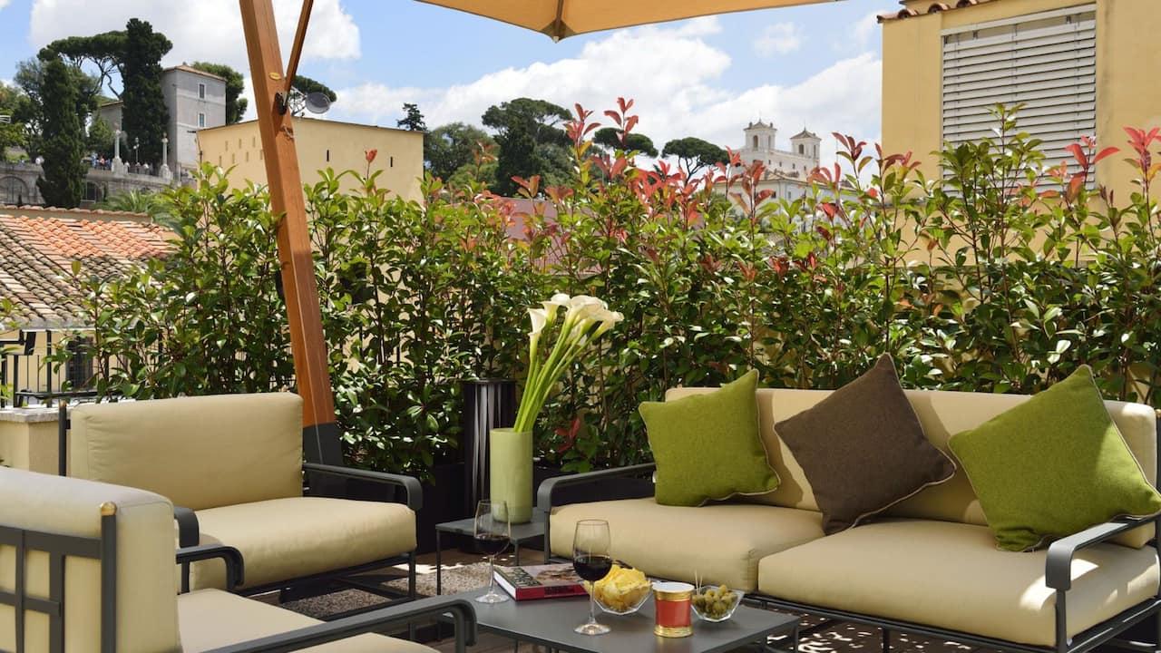 Patrizi Suite Terrace