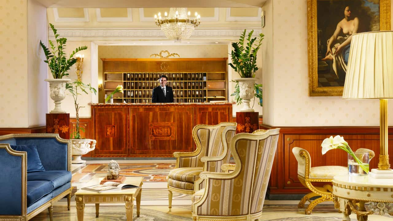 Grand Hotel Parkers Reception
