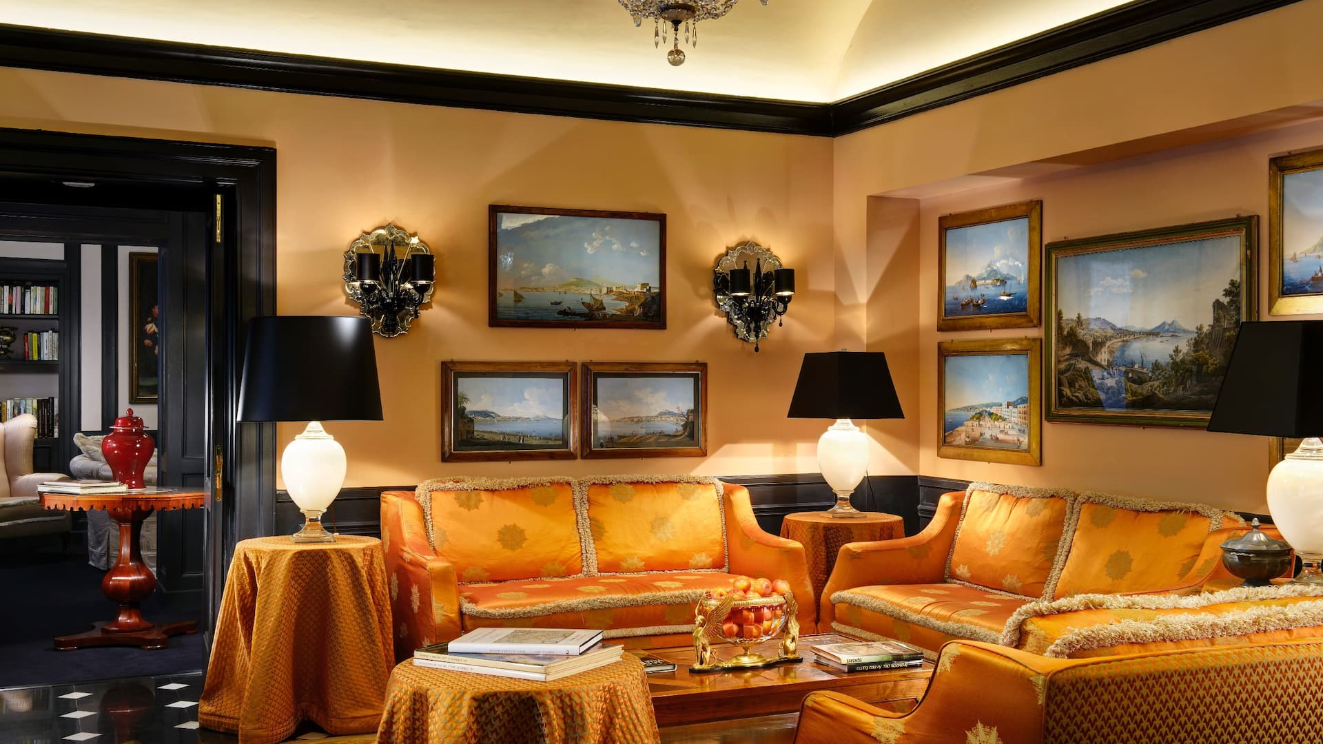Salotto Arancio Lobby Lounge