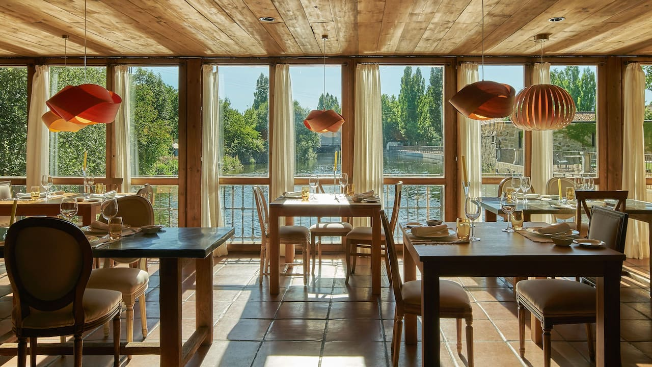 Tormes river views form Restaurant