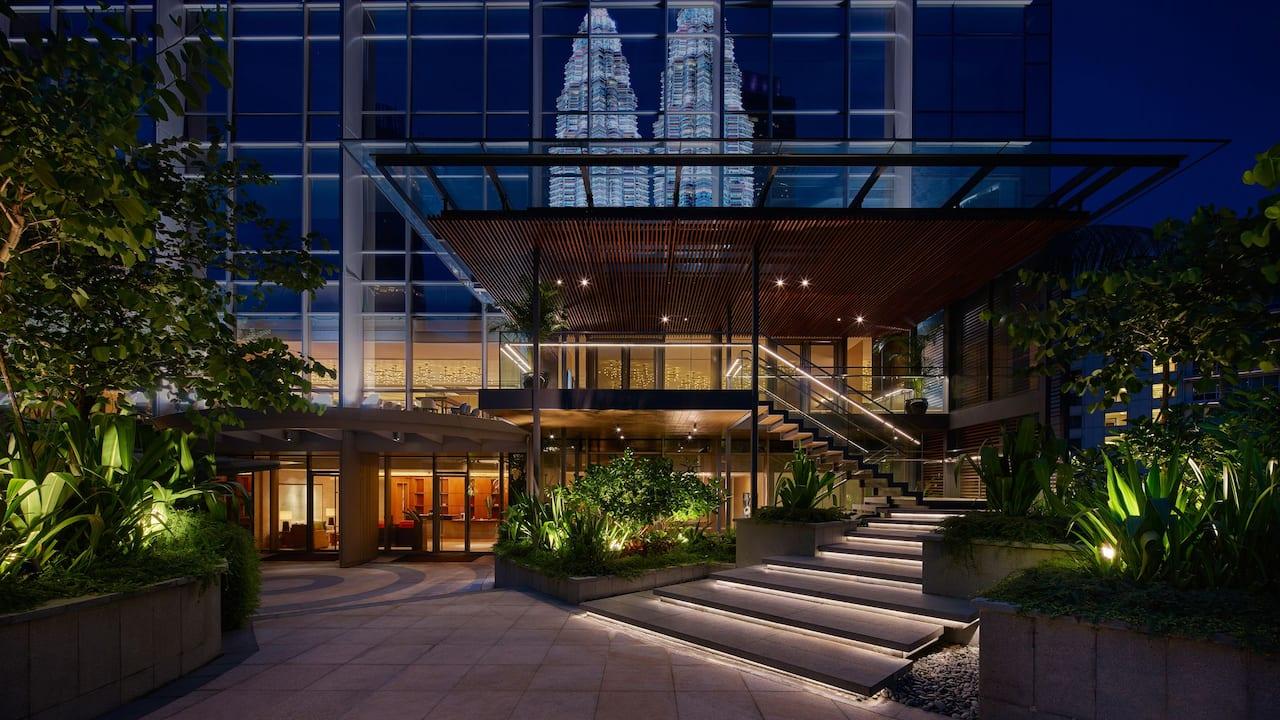 Grand Hyatt Kuala Lumpur - Poolside Residence Exterior View