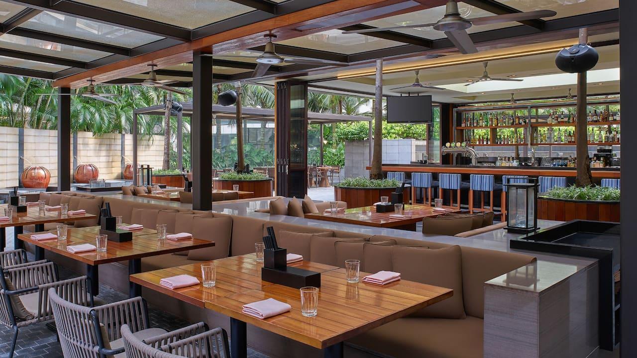 Grand Hyatt Kuala Lumpur - JP teres Outdoor Dining Area