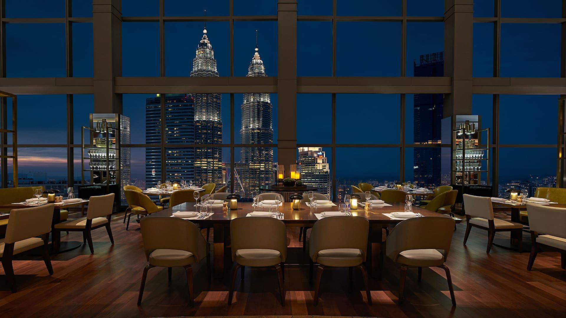 THIRTY8 Restaurant Kuala Lumpur (Nighttime Seating)
