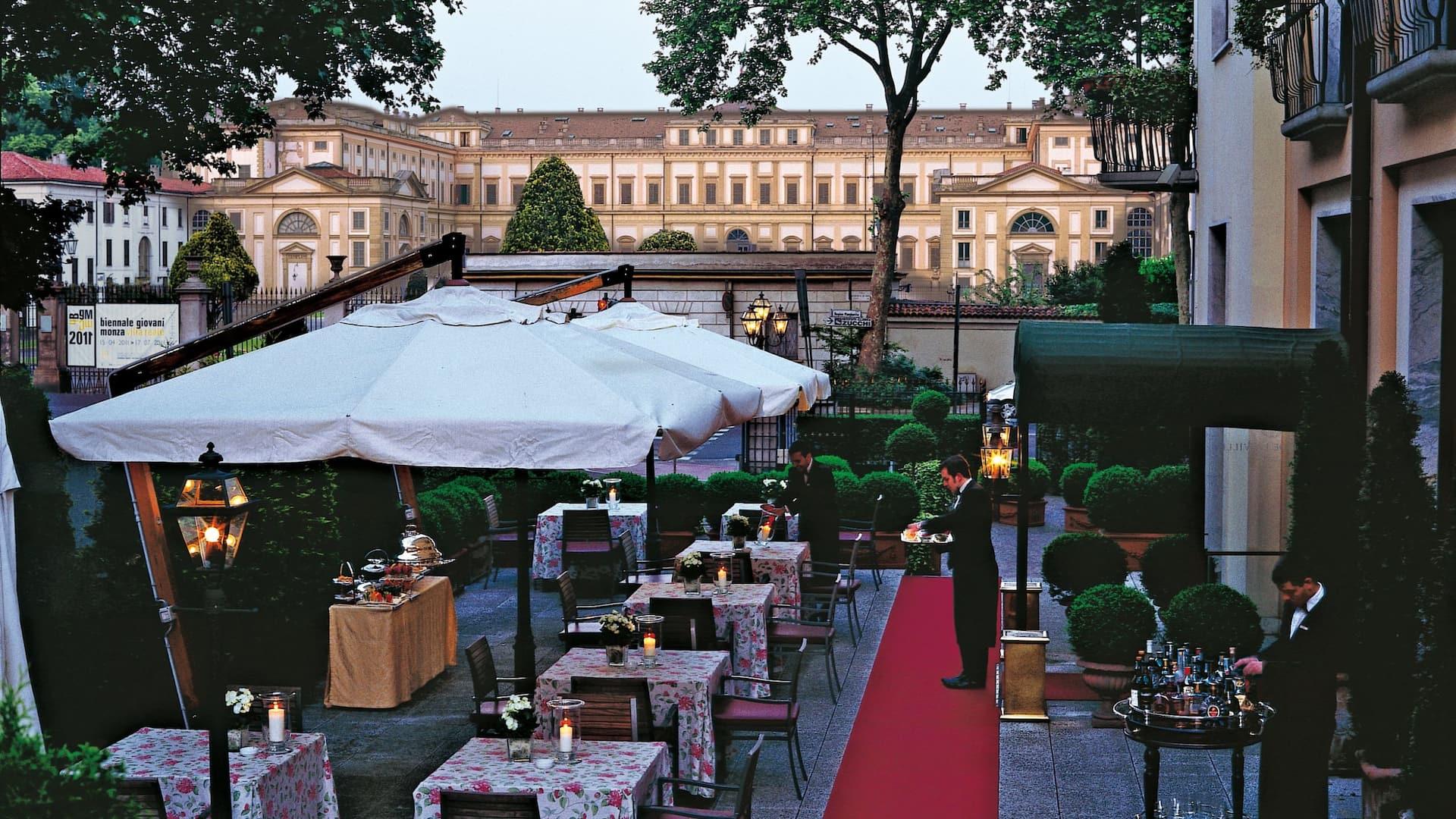 Hotel De La Ville Terrace