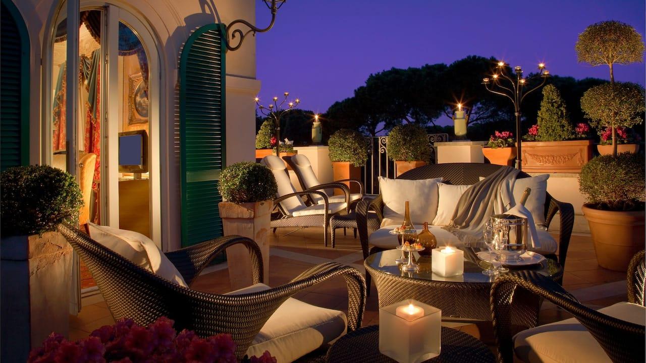 Guestroom Terrace