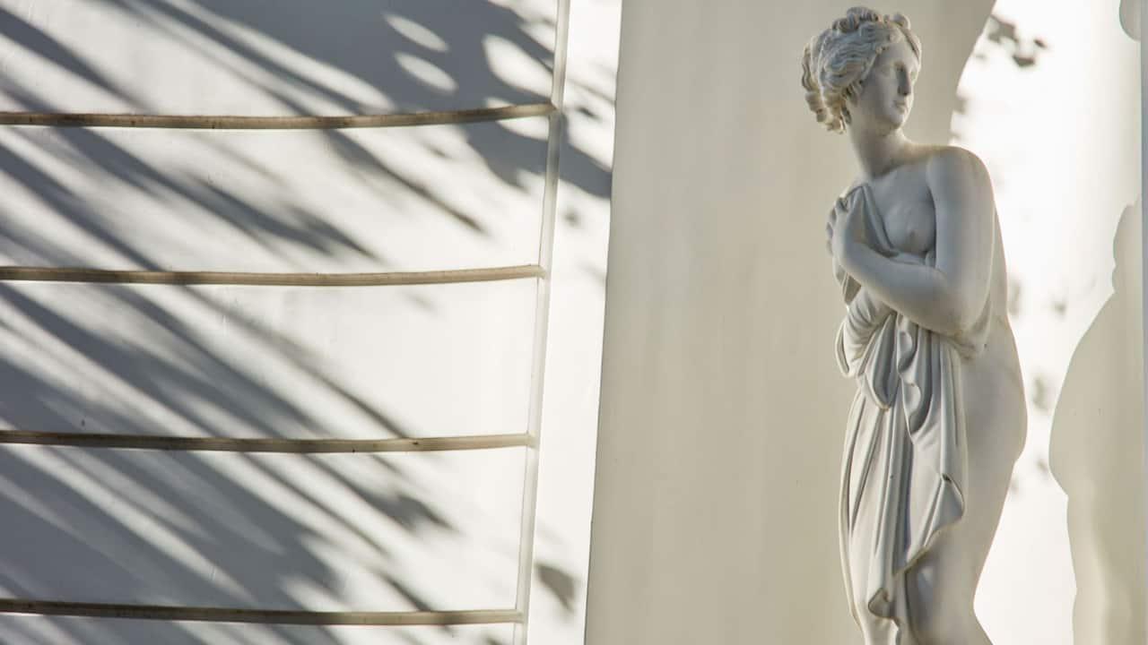 Exterior Statue