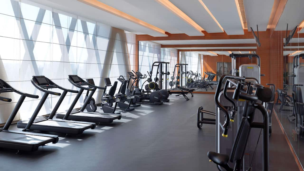 Hyatt Regency Zhenjiang gym