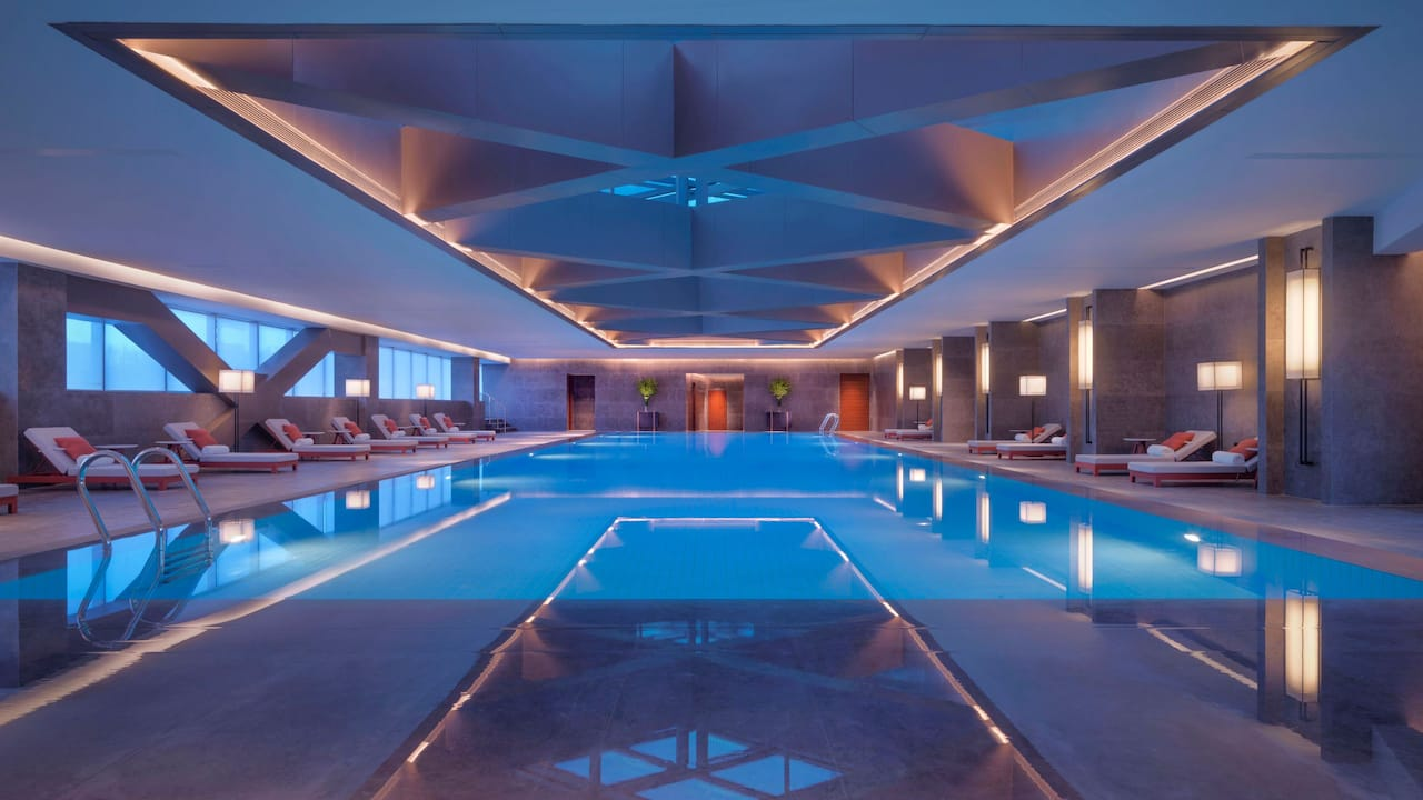 Hyatt Regency Zhenjiang Swimming Pool