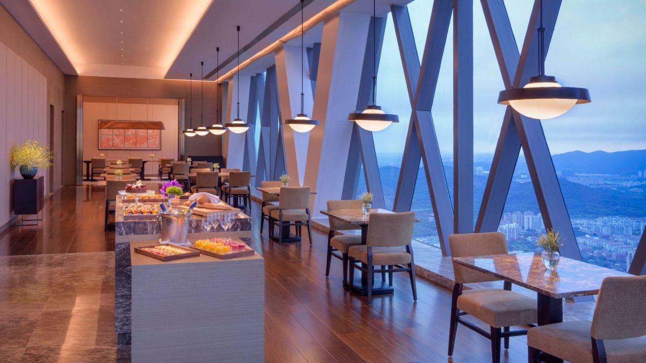 Hyatt Regency Zhenjiang lift lobby