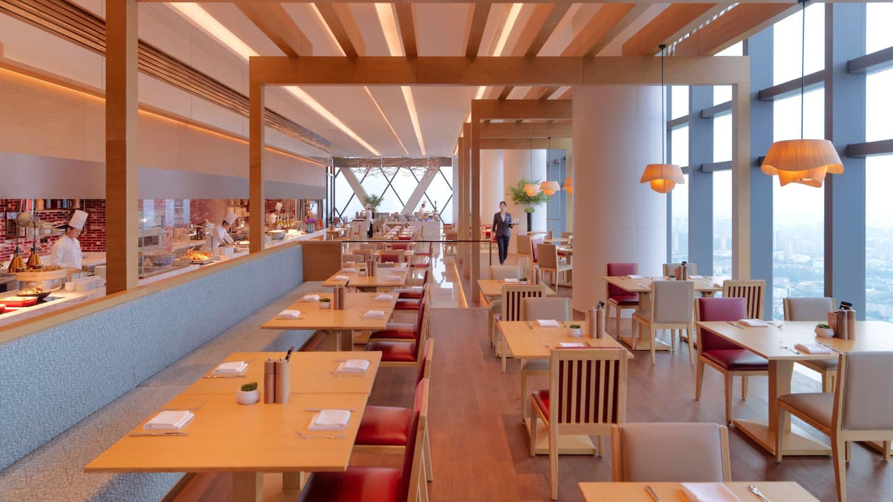 Hyatt Regency Zhenjiang Market Cafe Hall