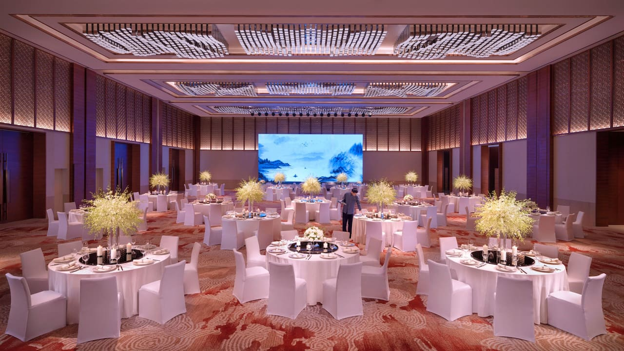 Hyatt Regency Zhenjiang Xiang Yue Private Dining Room